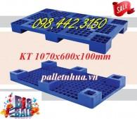 Pallet nhựa kê hàng KT 1070x600x100mm giảm giá cực sốc call 0984423150 – Huyền