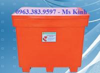 công ty bán thùng đá giữ lạnh lâu, thùng đá bền giá rẻ, giá thùng lạnh 300 lít