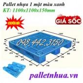 Giảm giá sốc pallet nhựa 1100x1100x150mm call 0984423150 – Huyền