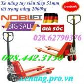 Xe nâng tay siêu thấp 51mm giá cực sốc call 0984423150 – Huyền