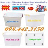 Bán thùng vuông, thùng nhựa đa năng giá sốc call 0984423150 – Huyền