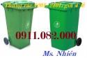 Cung cấp thùng rác giá rẻ tại cần thơ- thùng rác 120L 240L, thùng rác văn phòng-