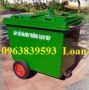 Thùng rác công cộng , xe thu gom rác môi trường, thùng rác công viên giá rẻ.