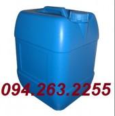 Chuyên sản xuất can nhựa công nghiệp, can đựng hóa chất, can 20l xanh