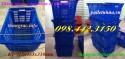 Thùng nhựa có quai sắt, sóng trái cây, thùng nhựa giá siêu rẻ call 0984423150