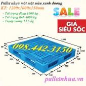 Pallet nhựa 1200x1000x150mm giảm giá cực sốc call 0984423150 – Huyền