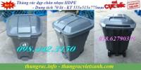 Bán thùng rác đạp chân 70 lít nhựa hdpe giá siêu rẻ, khuyến mãi sốc