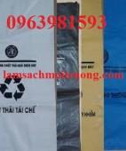Túi đựng rác, túi rác y tế, túi đựng rác thải sinh hoạt giá rẻ