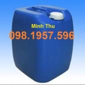 Bán can đựng hóa chất , can nhựa vuông, can 20 lít, can 30 lít giá rẻ