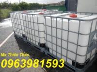 Bán tank nhựa, thùng nhựa 1000l, bồn đựng hóa chất, tank ibc