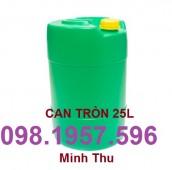 Chuyên cung cấp can nhựa công nghiệp, can 20l, can nhựa vuông giá rẻ