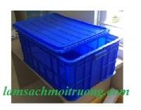 Bán thùng nhựa có nắp, sóng nhựa bít, hộp nhựa công nghiệp giá rẻ