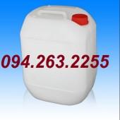 Bán can 20l, 30l, can hóa chất, can nhựa giá rẻ