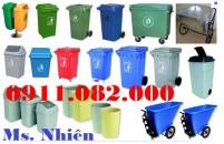 Thùng rác môi trường, thùng rác nhựa 120 lít 240 lít 660 lít giá rẻ sỉ và lẻ- 09