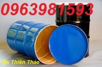 Phân phối thùng phuy cũ (mới trên 80‰), thùng phuy sắt, thùng phuy hóa chất