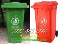 Giá thùng rác 240 lít, thùng chứa rác 240L, thùng rác công cộng 240L, thùng rác