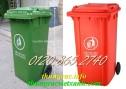 Giá sỉ/lẽ thùng rác 120 lít, thùng rác công cộng 120L,thùng chứa rác 120L giá rẻ