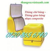 Sản xuất thùng chở hàng / thùng giao hàng / thùng chở hàng sau xe máy giá rẻ