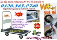 Bán xe đẩy hàng 300kg giá siêu rẻ - 01208652740 Huyền