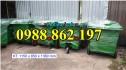 Bán buôn thùng rác tại Hà Nội, thùng rác giá rẻ miền Bắc, xe gom rác 660 lit 3 b