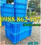 Thùng nhựa đặc B4, sóng nhựa bít b4, sóng nhựa đặc b4, thùng nhựa b4 giá rẻ, thù