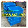 thùng nhựa b4, thung chua cong nghiep, thùng nhựa đặc, sóng nhựa bít, thùng nhự