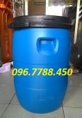 Phuy nhựa 50 lít, phuy nhựa đựng hóa chất, phuy nhựa đựng chất lỏng 0967788450