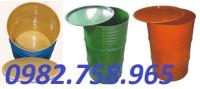 Thùng phuy sắt 200l, thùng đựng hóa chất, thung phuy sat.