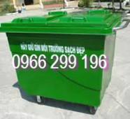 Bán thùng rác nhựa 660l giá sĩ trên toàn quốc