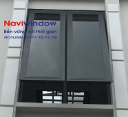 Cửa sổ mở hất: cửa nhôm Xingfa