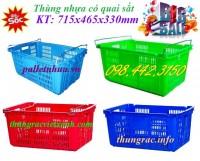 Thùng nhựa có quai sắt giá siêu rẻ call 0984423150 – Huyền