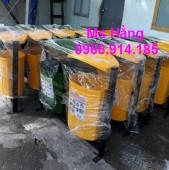 Thùng rác 2 ngăn composite,thùng rác 3 ngăn composite giá rẻ
