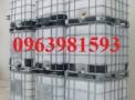 Chuyên bán bồn đựng hóa chất, bồn nhựa 1000 lít, thùng chứa 1000 lít giá rẻ