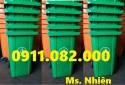0911082000- chuyên cung cấp thùng rác 240 lít giá rẻ ở an giang- thùng rác 120 l