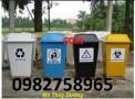 Bán thùng rác y tế, thùng rác 120l, 90l, thùng đựng chất thải giá rẻ