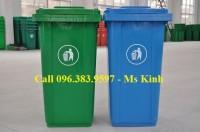 giá thùng rác 240l, bán thùng rác công cộng tại tphcm giá rẻ
