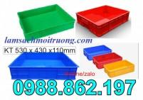Sóng nhựa bít HS006, thùng nhựa đặc HS006, thùng nhựa đặc có nắp HS006
