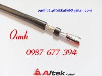 Cáp tín hiệu chống nhiễu RS485 1 Pair 22 AWG Altek Kabel