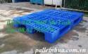 Pallet nhựa 1200x1000mm (tải động-tải tĩnh: 1-3 tấn) PL466