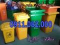 Cung cấp thùng rác 120 lít giá rẻ tại cần thơ- bán các loại thùng rác công cộng-