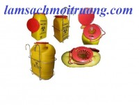 Chuyên cung cấp các loại xô y tế, hộp đựng vật sắc nhọn, hộp đựng kim tiêm