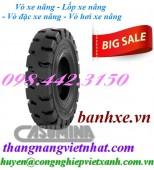 Vỏ xe nâng bánh đặc Casumina - Lốp đặc xe nâng Casumina giá cực sốc