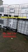 Bồn 1000 lít đựng hóa chất, tank nhựa, tank IBC 1000 lít giá rẻ
