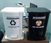 Cung cấp thùng rác y tế, thùng đựng chất lây nhiễm, túi đựng rác y tế