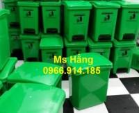Thùng rác y tế,thùng rác đạp chân 20 lít y tế