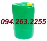 Bán buôn can nhựa các loại, can đựng hóa chất, can nhựa tròn, can nhựa vuông
