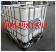 Bồn hóa chất, bồn nhựa 1000 lít, thùng nhựa 1000 lít giá rẻ