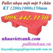 Pallet nhựa 1200x1000x150mm PL01LS giá siêu rẻ call 0984423150 – Huyền