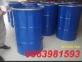 Bán thùng phuy sắt 220l, thùng phuy đựng dầu, phuy nắp hở giá rẻ