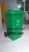 Cc thùng nhựa đựng rác 100L giá rẻ - LH: 0963.839.593 Thanh Loan